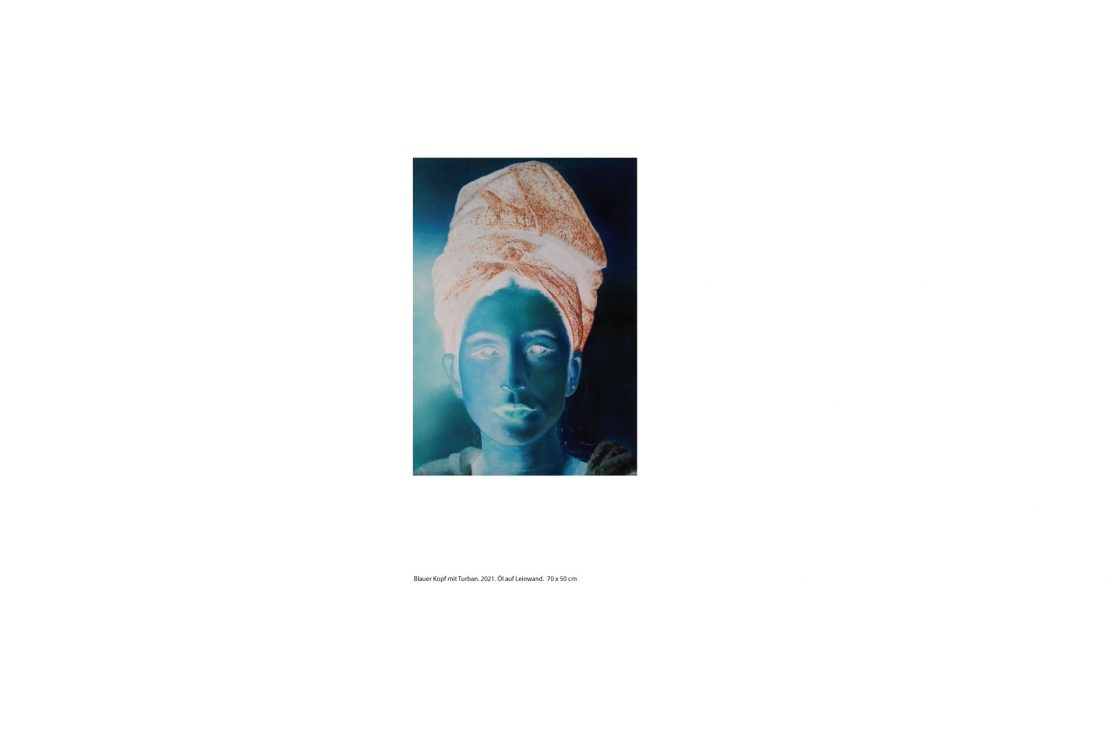 Blauer Kopf 2 ID: 1146